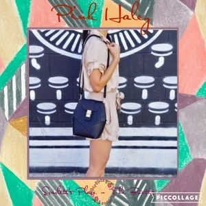 Pink Haley Black Frida Hexagonal Shaped Bag